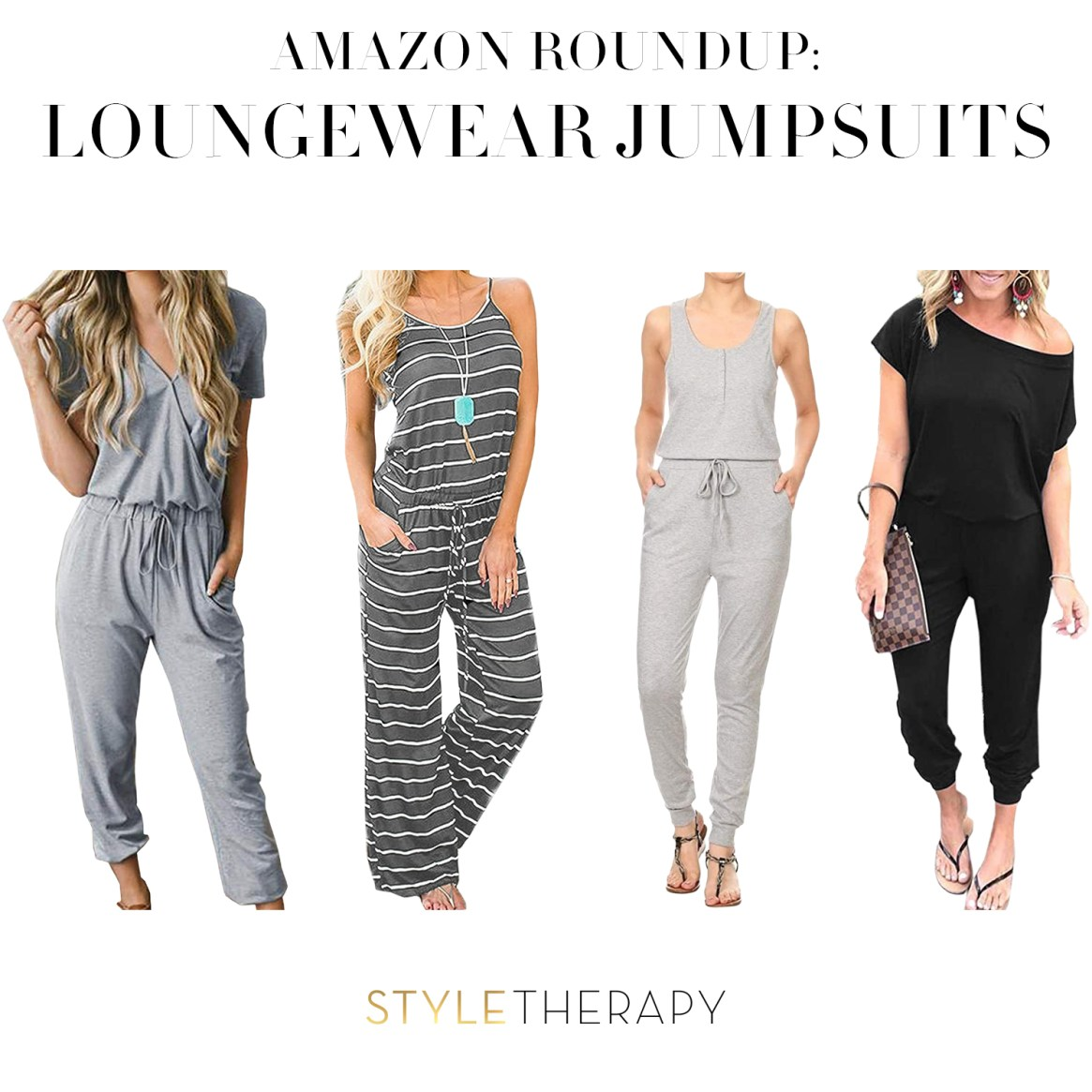 Amazon Roundup Loungewear Jumpsuits Instagram