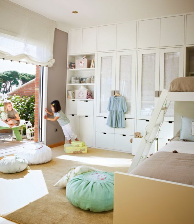 Very delicate design ideas of kids room for 2 girls - My ... on Girls Bedroom Ideas For Very Small Rooms  id=55798