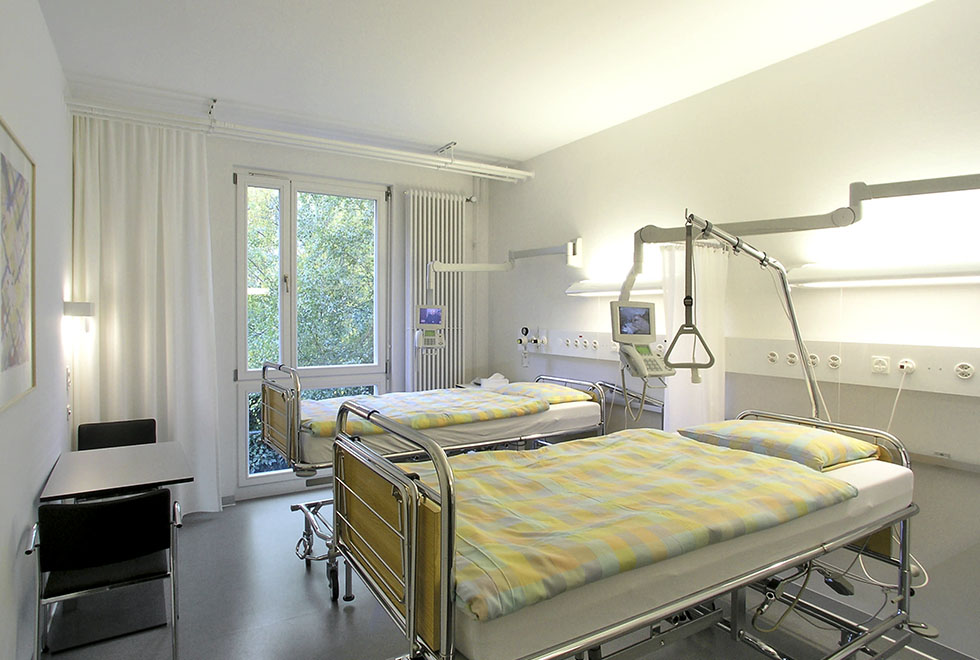 Палата Университетской клиники Цюриха