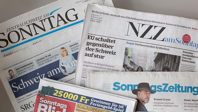 Швейцария газеты