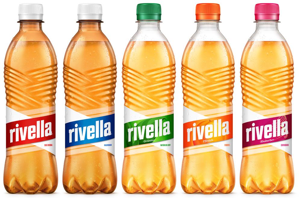 "Сорта лимонада ""Rivella"""