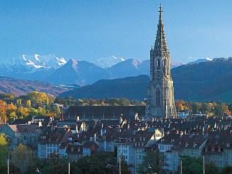 Берн. Панорамный вид на город