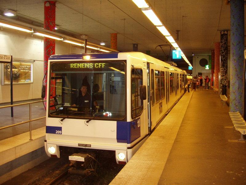 Лозаннское метро