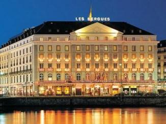Один из лучших отелей Щвейцарии Four Seasons Hotel des Bergues