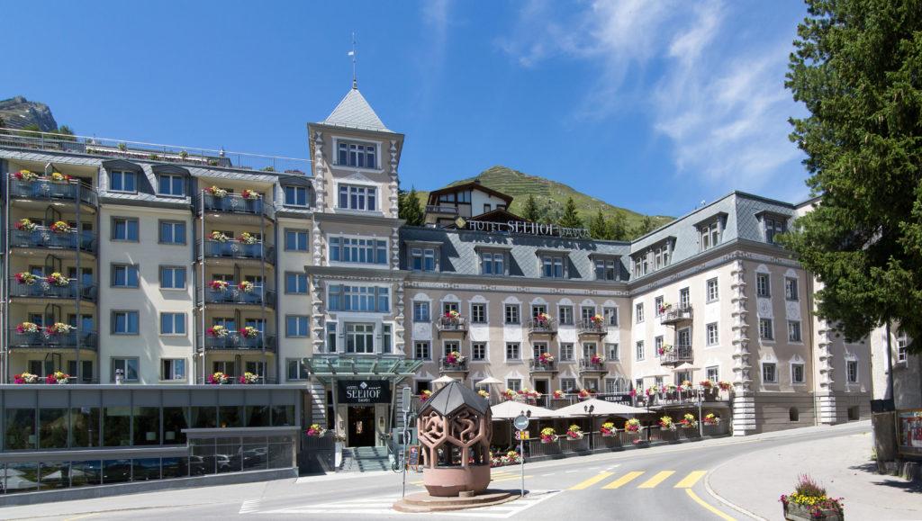 Четырёхзвёздочный отель Seehof