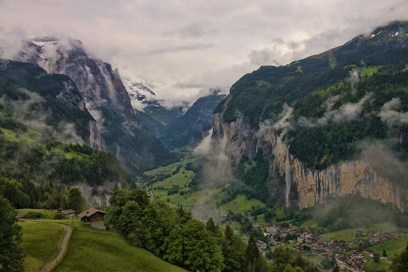 Лаутербруннен - природоохранная зана