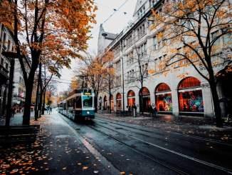 Осень в Цюрихе
