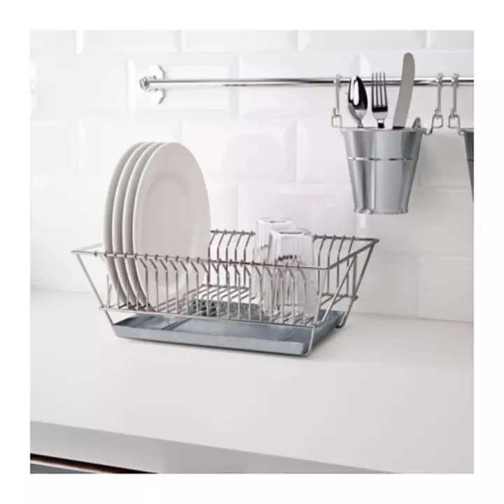 ikea fintorp hangable dish drainer dish rack with removable tray 37 5x29x13 5 cm