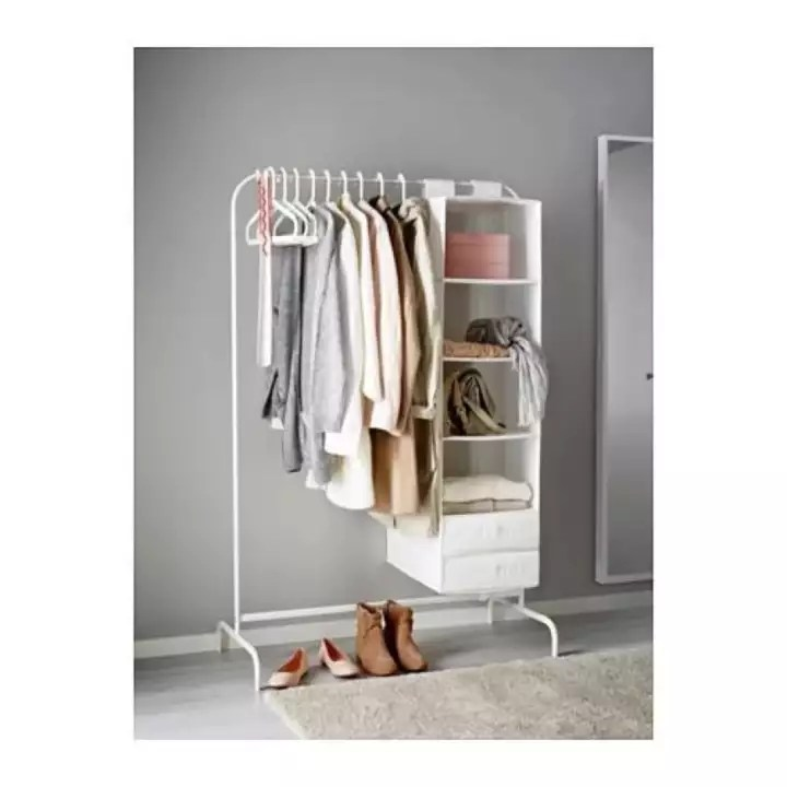 ikea mulig clothes rack hanging drying rack 99x46cm white