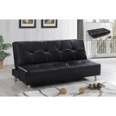 Unico Concord Sofa Bed Pvc Black