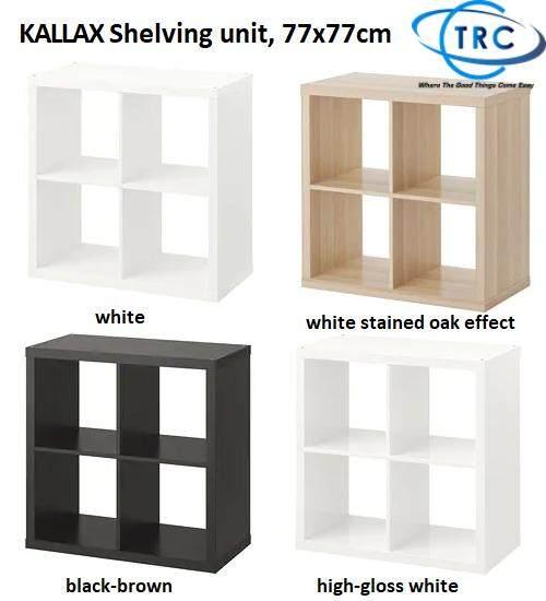 Ready Stock Ikea Kallax Shelving Unit 77x77cm