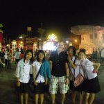 udon thani - fun with students
