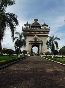 vientiane, Laos - Patuxay / Victory Gate
