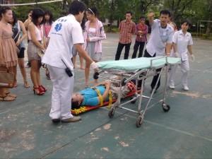 injury in thailand