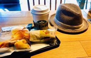 大晦日のスタバ朝食