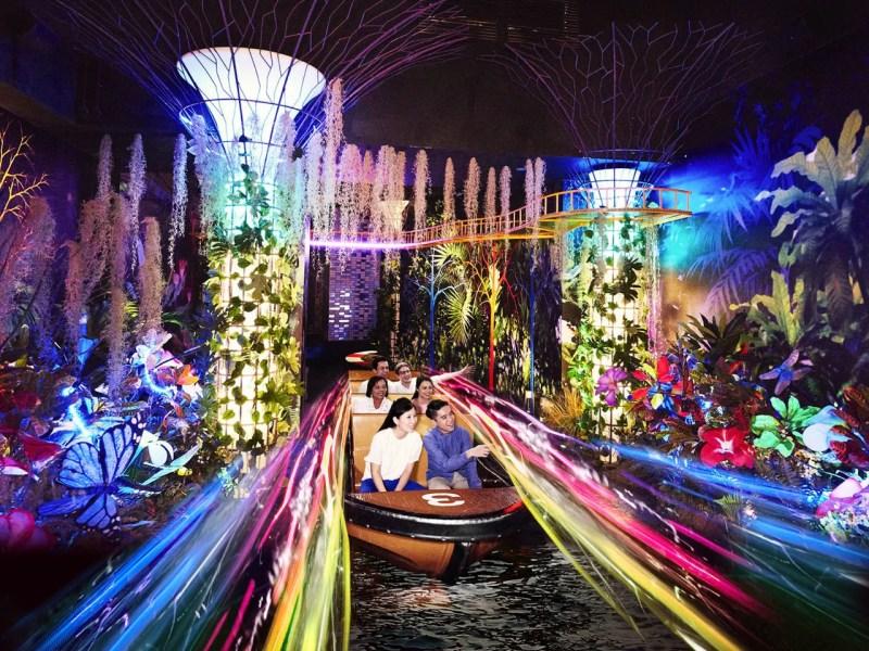 スピリット・オブ・シンガポール the Spirit of Singapore Boat Ride