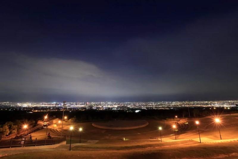 望高寮夜景公園の夜景