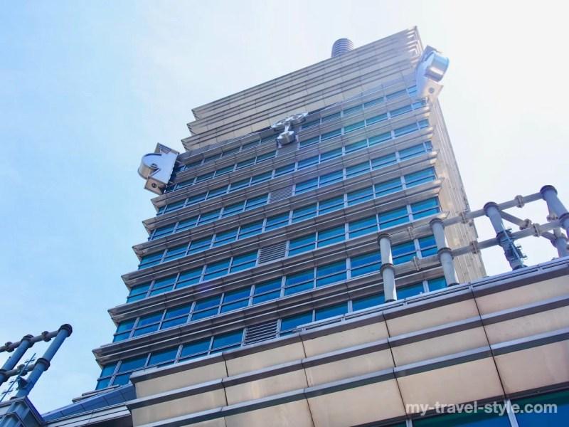 台北101最先端の尖塔部