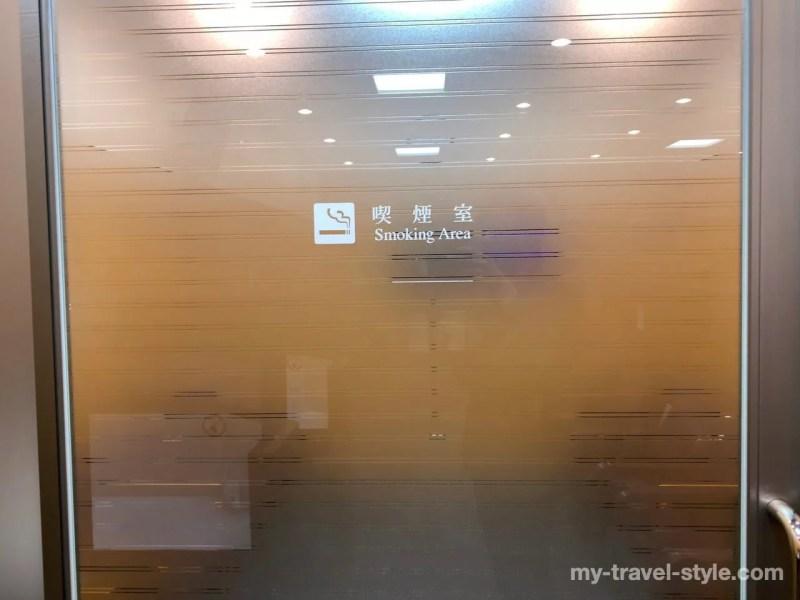 富山空港のラウンジらいちょう