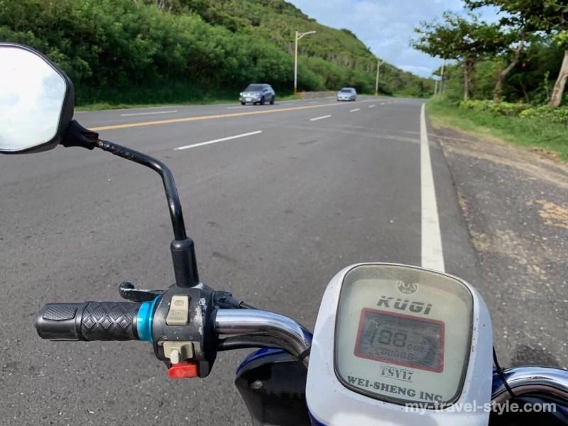 包租婆電動機車のレンタルバイク