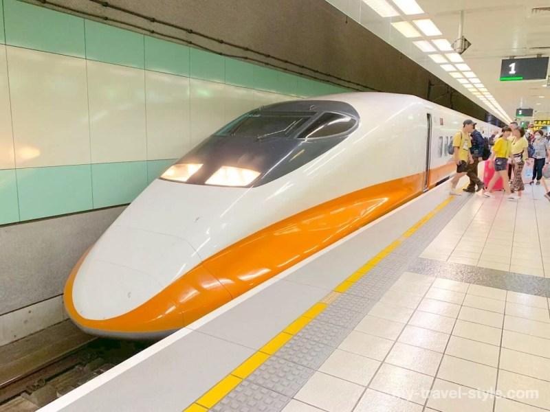新幹線桃園駅から台湾新幹線で南台湾(台南・高雄)に向かう