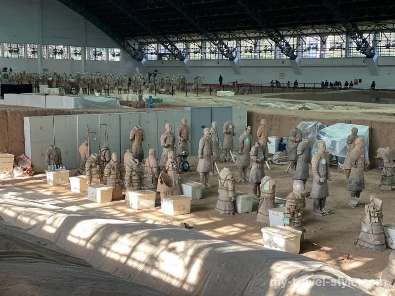 秦始皇兵馬俑博物館 1号坑