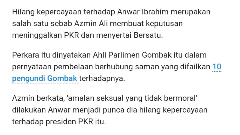 Azmin Ali