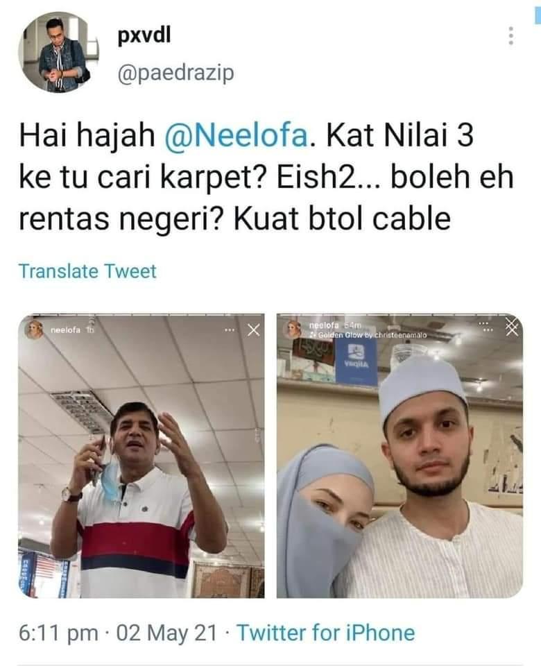 Kontroversi Neelofa