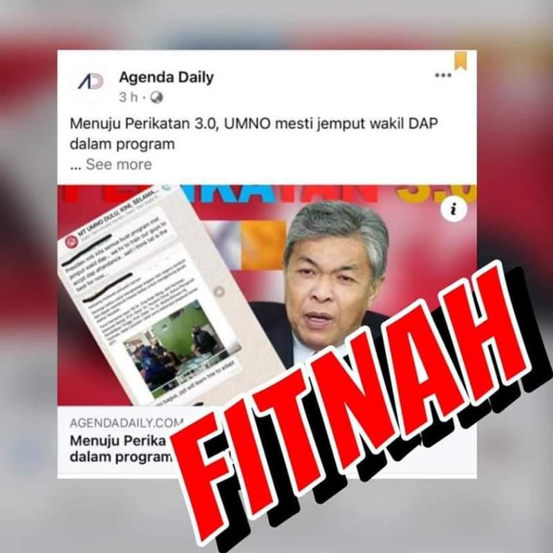UMNO Di Fitnah