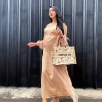 Lucinta Luna Tayang 'Baby Bump' Kepada Umum