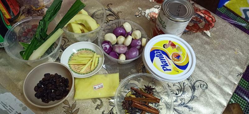 Bahan Masak Nasi Minyak