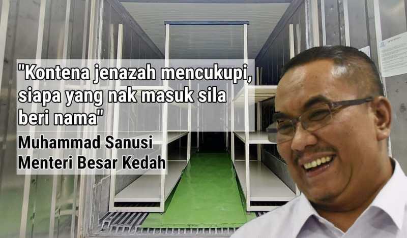 MB Kedah Persenda Kematian Mangsa Covid19