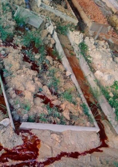 kubur berdarah