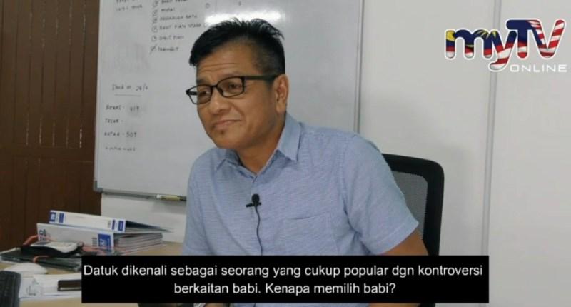 Norhizam 'pakar'babi Melaka