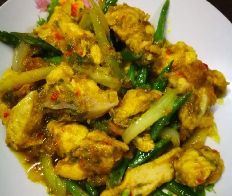 Ayam tumis Lombok
