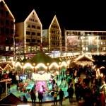 クリスマス夜の街