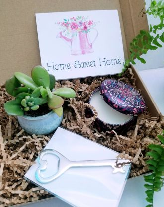 New Home gift box, custom listing for jess