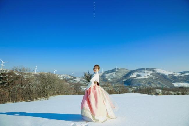 hanbok winter