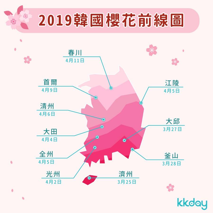 2019韩国樱花