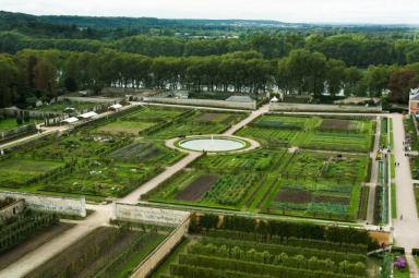 PHOTO: The Grand Square of Potager du Roi.