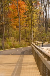PHOTO: North Branch Trail addition (bike path).