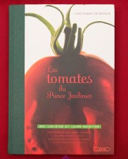 PHOTO: Book cover of Les tomatoes du prince Jardinier
