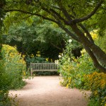 PHOTO: The English Walled Garden abloom in August.