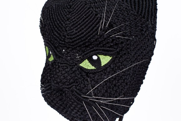 """PHOTO: """"Whiskers"""" mask."""