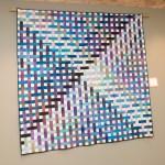 "PHOTO: ""X-Box"" quilt by Amy Spungen."