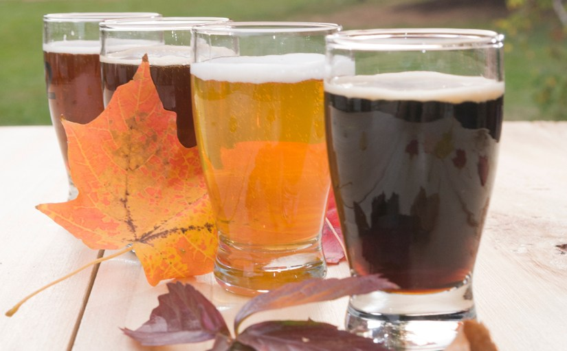 Pair your fall food with beer