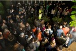 PHOTO: The crowd visiting Alice the Amorphophallus, nearing 1 a.m.