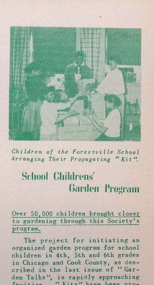 Garden Talk article from 1953