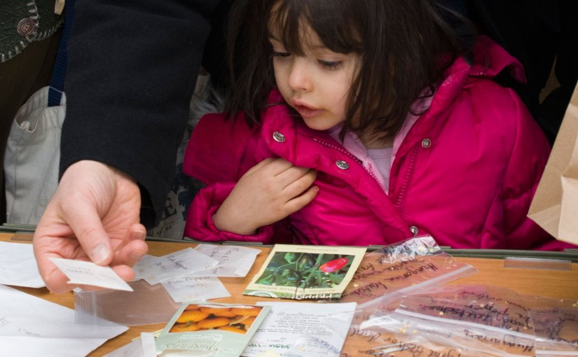 Seed Library opening soon at the Chicago Botanic Garden