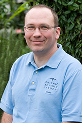 Tom Soulsby, senior horticulturist, Rose Garden, Heritage Garden, and Linden Allee